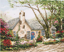 Morning Glory Cottage - Maia Collection - Anchor Cross Stitch Kit - 56780001080