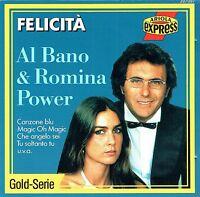 (CD) Al Bano & Romina Power - Felicità - Sharazan, Canzone Blu, Tu Soltanto Tu