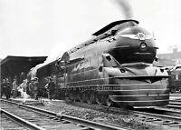 Pennsylvania Railroad Photo PRR 3768 Steam Locomotive Pacific 4-6-2 train 7 x 10