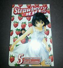 EXTREMELY RARE NEW SEALED MANGA Strawberry 100% VOLUME 5 - SHONEN JUMP VIZ MEDIA