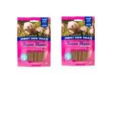 Chew Treat Bacon for Ferret - 1.8oz - scrape away plaque & tartar Delicious 2pk