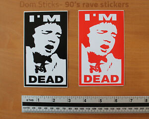 I'm Dead- 90's sticker decal, Greatful Dead, VW, T5, Beetle, Camper