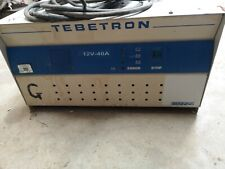 More details for tebetron 12v 40a battery charger, ideal for forklift, cherry picker etc