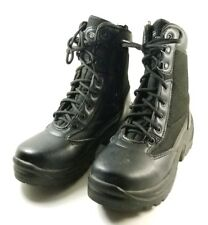 Galls Tactical Police Boots Women's Sz 6M FW045 Black Leather (sb12)