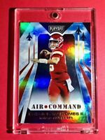 Patrick Mahomes AIR COMMAND HOLOFOIL INSERT PANINI PLAYOFF CHIEFS CARD #7 Mint!