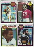 1979 Topps Football Cards 1st Part #1-200 Complete Your Set - You Pick!