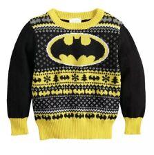 Nwt Toddler Boys 3t DC Comics Batman Jumping Beans Holiday Sweater
