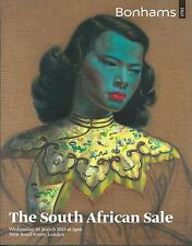 BONHAMS SOUTH AFRICAN ART Mgudlandlu Pierneef Sekoto Skotnes Tretchikoff Catalog