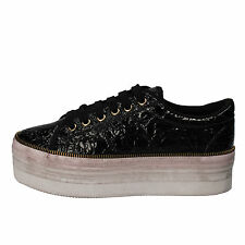 women's shoes JC PLAY BY JEFFREY CAMPBELL 9 (EU 40) sneakers black AD391-D