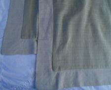 Set 2 Crate and Barrel Sojourner Standard Pillow Shams Sage & Natural Linen
