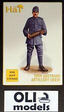1/72 WWI Austrian Artillery Crew FIGURES SET - HaT 8258