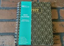 2022 Monthly Amp Weekly Spiral Planner Calendar Organizer Appointment Book 6 X 8