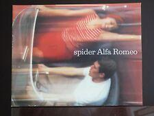 Alfa Romeo Giulia Spider-2600 Spider Brochure