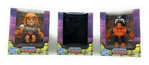 Masters of the Universe MOTU Loyal Subjects Mini He-man, Stinkor, Blind-Lot of 3