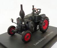 Hachette 1/43 Scale Model Tractor HT118 - 1938 Lanz Bulldog D 7506 - Grey