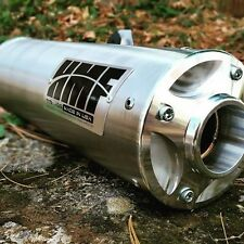 HMF Titan Exhaust Muffler Slip On Stainless Side Mount Honda Rincon 650 680