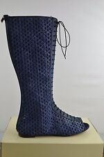 Miss Sixty April Blau Boots Boot Schuhe Shoe Stiefel Stiefeln Gr. 40