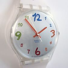 SWATCH MAXI 2001 Rare! 83 Inch Wall TOP Clock Swiss Watch Switzerland Wristwatch