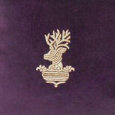 RALPH LAUREN Great Compton VELVET Decorative Pillow NWT Purple INVERNESS Cotton