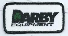 Darby Equipment Marshall TX Employee patch 2 X 4           #20