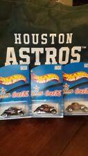 5 2001 SGA Hot Wheels Houston Astros 34 Ford Lot of 5