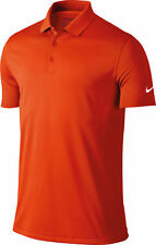 Nike Victory Solid Short Sleeve Polo T-Shirt (NK251) - TEAM ORANGE COLOUR SIZE S