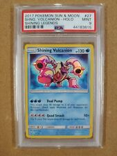 "PSA 9 Shining Volcanion 27/73 ""Shining Legends"" Pokemon Card"