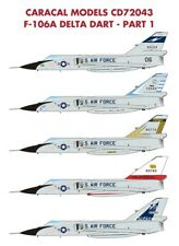 Caracal 1/72 USAF CONVAIR F-106A Delta Dart-parte 1 # 72043
