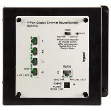On-Q/Legrand 4-Port Gigabit Router/Switch (DA1054)