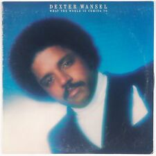 DEXTER WANSEL: What the World Is Coming To DISCO Funk ORIG USA Vinyl LP