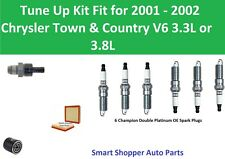 Spark Plugs, Oil Filter, PCV Tune Up For 2001 2002 Chrysler Town & Country V6