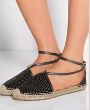 NEW--Jimmy Choo Donna Black Espadrille Size US 9.5 - 39.5 -Retail $525