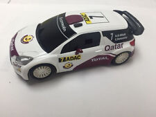 SCX 1/32 Purple White #7 Citroen Ds3 Qatar Racing Slot Car
