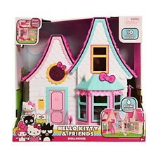 Hello Kitty Doll House Play Set Kids Toddler Pretend Girl Gift Accessories New