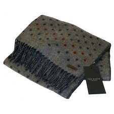 71849ca81d169 Ted Baker Spotted Pattern Scarf Grey Marl