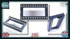 10x DIP24 24 Pin Integrated Circuit IC Sockets Adaptor Solder Type