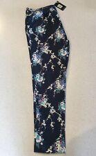 Blue Oasis Floral Pants Size 14/40