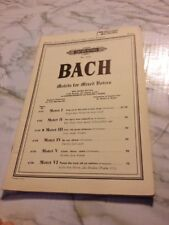 Bach Motes for Mixed Voices Motet 3 Jesu, my Great pleasure Satb Score