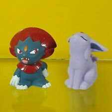 2 Pcs. 2007 Pokemon Finger Puppet Bandai Nintendo Monster Official Toys Set F/S