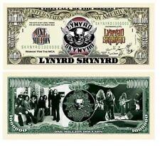 LYNYRD SKYNYRD One Million Dollar Bill Note $1000000 BUY 2 GET 1 FREE