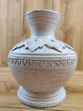 Decorative Vase Distressed Antique Look Thailand