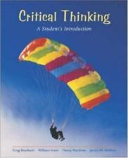 CRITICAL THINKING - Student's Introduction 1e 2002 NEW