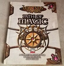 Legends And Lairs Path Of Magic D20 System Fantasy Flight RPG