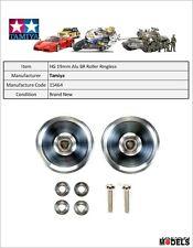 Mini 4wd 19mm ALUMINUM BALL-RACE ROLLERS (RINGLESS) Tamiya 15464 New