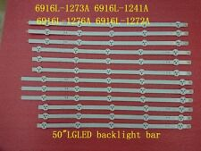 """Lote 12 Led Strip LG 50"""" Rev 0.4 6916l-1273a 6916l-1241a 6916l-1276a 6916l-1272a"""
