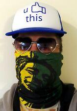 Washable Face Mask Bandana Usa Seller Reggae Music Weed Marijuana Bob Marley 420