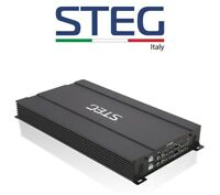 STEG ST402 AMPLIFICATORE 190W RMS x 4 CANALI 760W RMS MONO > MADE IN ITALY AUTO