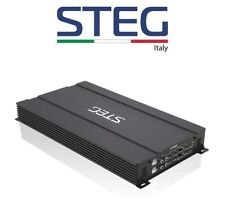 STEG ST402 AMPLIFICATORE 190W RMS x 4 CANALI 760W RMS MONO > MADE IN ITALY