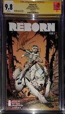 """Reborn 3 Cover C from """"The Collection of Capullo"""" CGC SS 9.8 sig Capullo NETFLIX"""