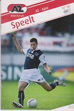 Programma / Programme AZ Alkmaar v Ajax Amsterdam 23-09-2007
